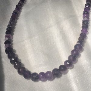 Jay King Amethyst Necklace 925 Sterling Silver